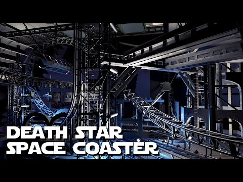 Planet Coaster - Death Star Space Coaster