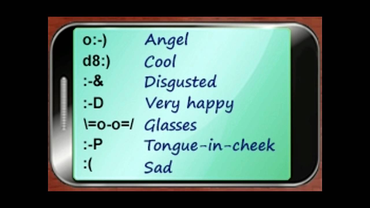 Heres A List Of Texting Symbols To Convey More Than Just Words