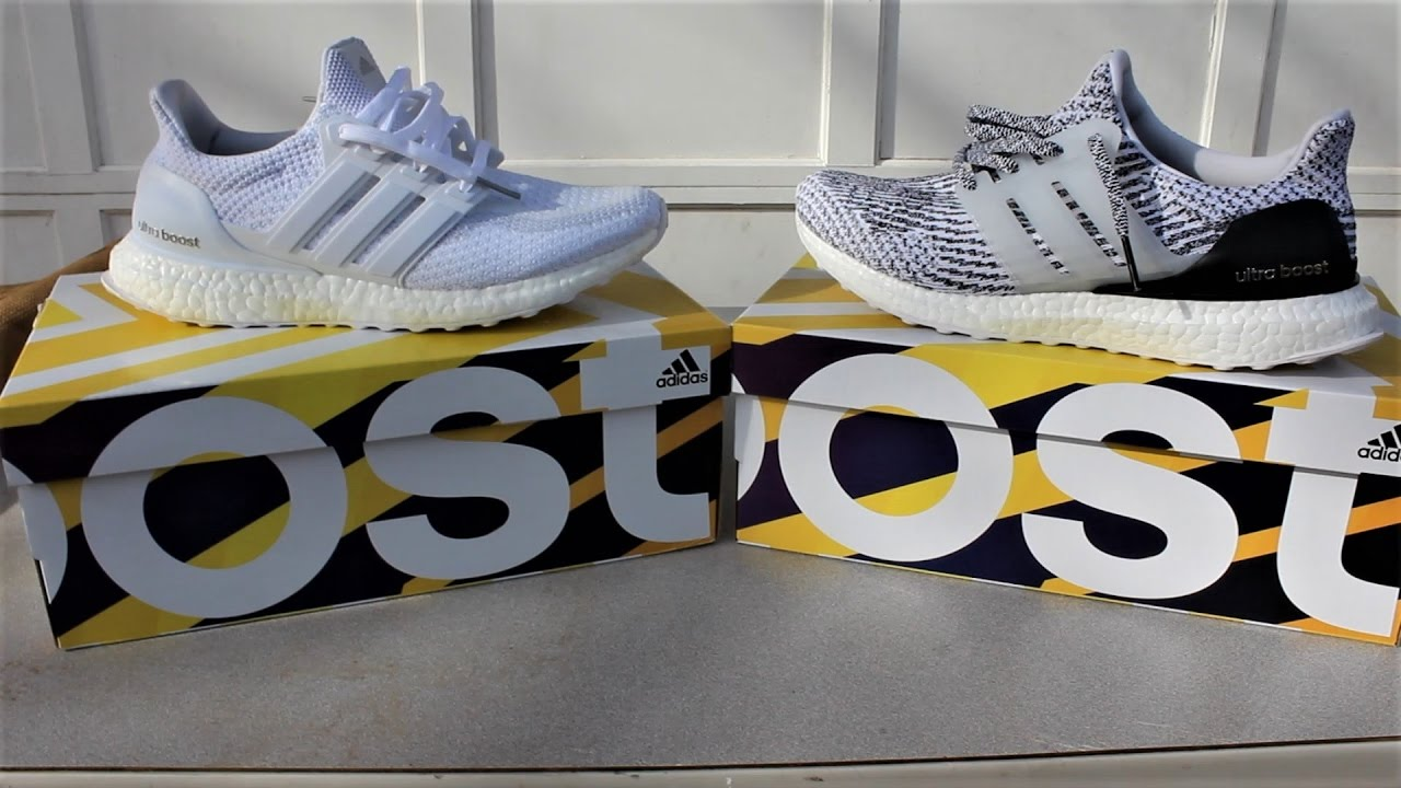 the latest 0b815 96ab8 Adidas Ultra BOOST 2.0 Vs 3.0   What s The Difference !  Comparison w  On  FEET! - YouTube
