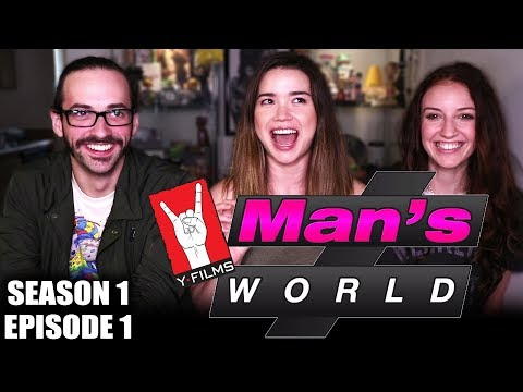 MAN'S WORLD EPISODE 1 | REACTION | Hope Jaymes & John Humphrey