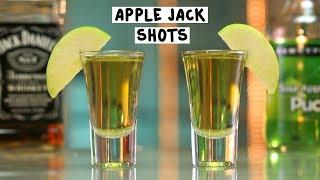 Apple Jack Shots - Tipsy Bartender