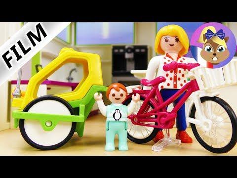 Film Playmobil en français | Le nouveau charriot pour vélo - Surprise pour Emma | Série pour enfants