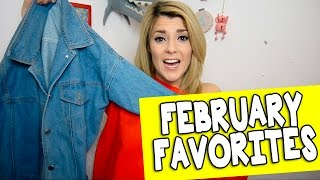 FEBRUARY FAVORITES // Grace Helbig