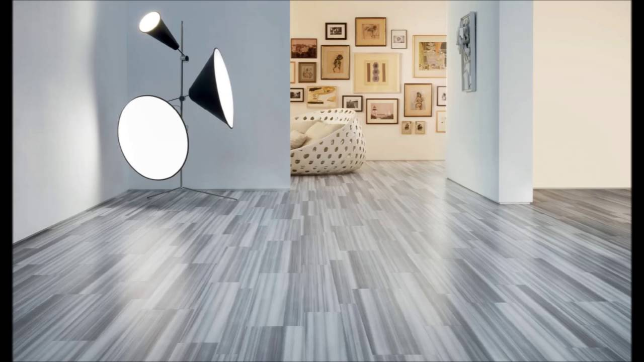 Living Room With Nice Floor Tile Ideas - YouTube