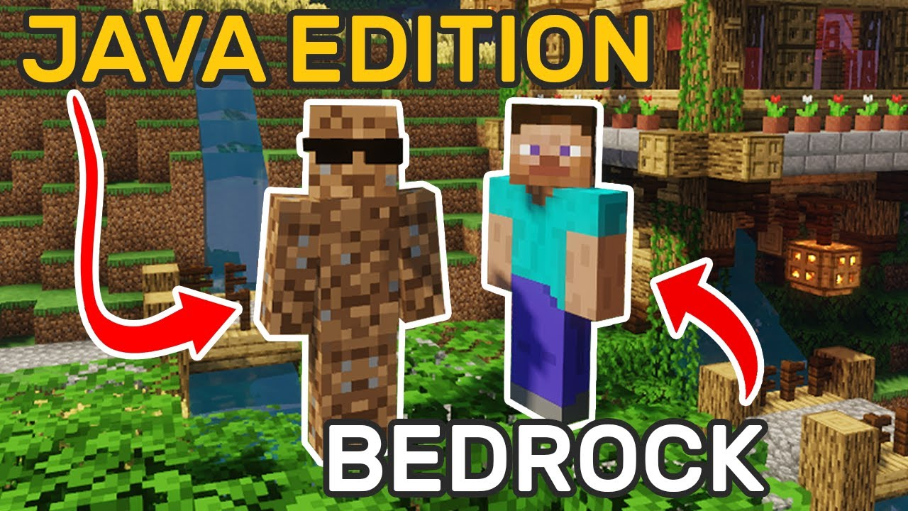 How to connect Bedrock players to Java servers Part One YouTube
