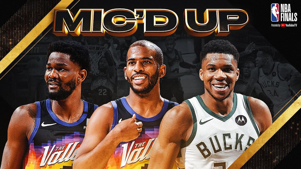 Best of Mic'd Up Moments from Game 1 of the 2021 NBA Finals! 🗣🗣