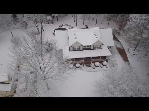 Winter In Spartanburg South Carolina 2018