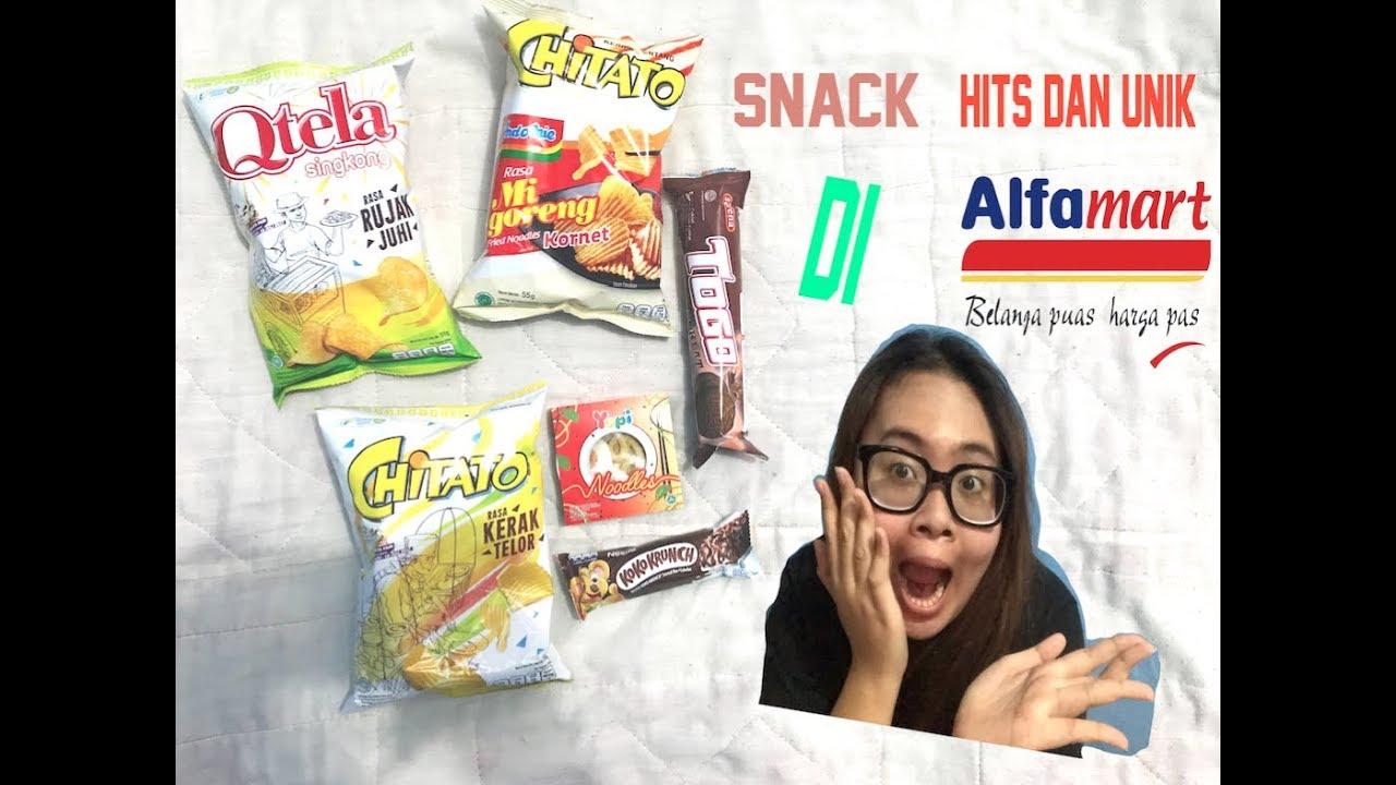 Review Snack Hits Dan Unik Dari Alfamart Youtube