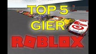 TOP 5 BEST ROBLOX RACING GAMES