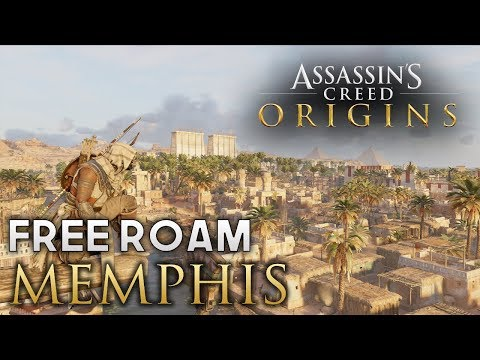 Assassin's Creed: Origins - Free Roam in Memphis (Funtage)