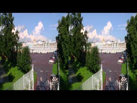 Пушкин в 3D.Pushkin in 3D.Test JVC GS-TD1.Стереопара side by side sbs