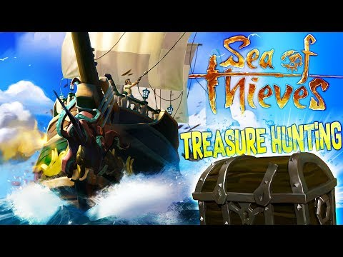 SEA OF THIEVES - Treasure Hunting Quests! - The Perfect Piracy Game? - Sea of Thieves Closed Beta