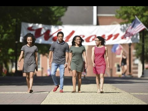 Quadruplets settle in for 4 years at Duquesne University in Pittsburgh