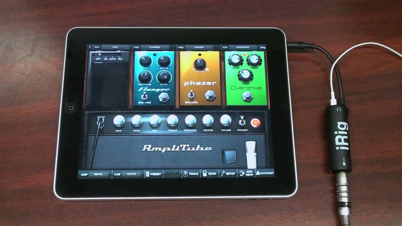 amplitube irig metal video metal guitar tone on your ipad youtube rh youtube com Mini Apple iPad 4 User Manual amplitube app user manual
