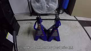I Use Floor Jacks, Jack Stands, Ramps, etc… vlog