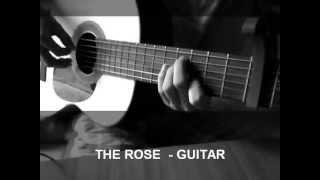 THE ROSE  GUITAR