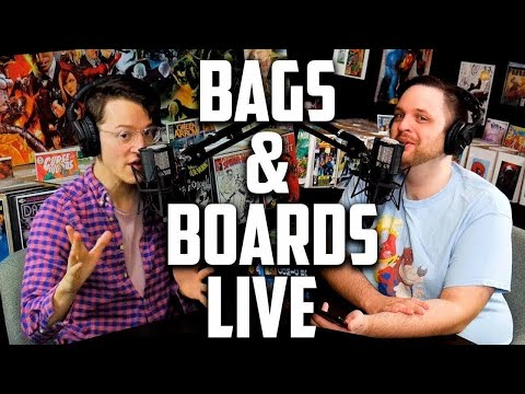 Horror Superman? Comic book Karma & Ryan's Pulls  - Bags & Boards Live Ep12