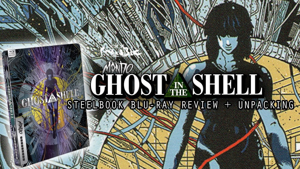 Ghost In The Shell Steelbook Blu Ray Review Unpacking Youtube