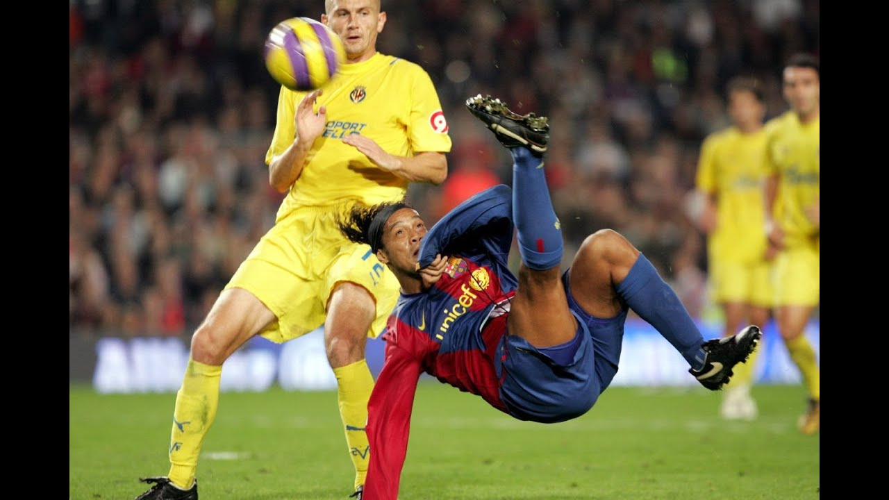 Image result for ronaldinho vs villareal