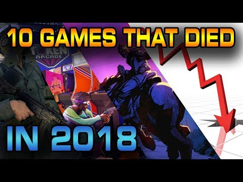 10 Games that died in 2018. thumbnail