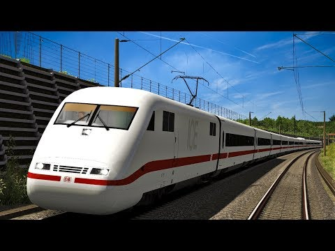 Let's Play Train Simulator 2018 | Freiburg - Basel | ICE 1 nach Basel SBB | Katzenbergtunnel