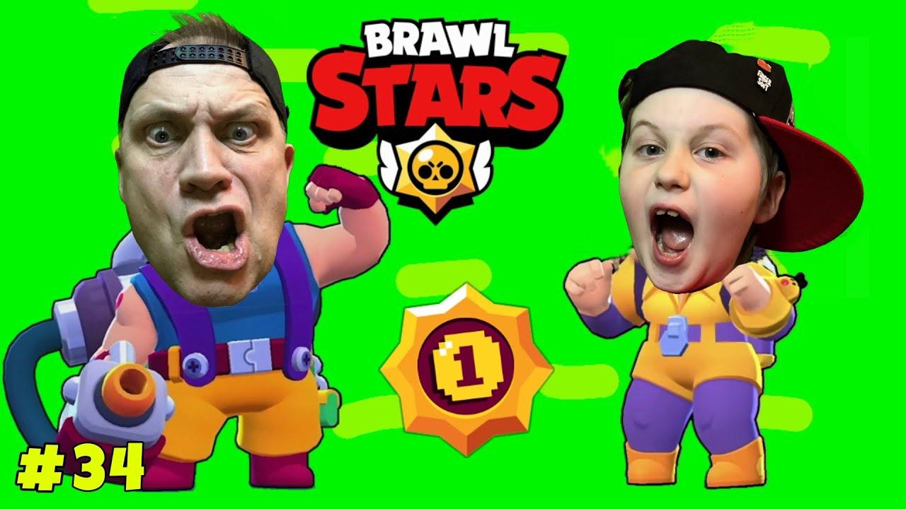 ЗАКРЫВАЕМ первый СЕЗОН обновленной БРАВЛ СТАРС. АРТЕМ и БАТЯ спешат на помощь в игре BRAWL STARS.
