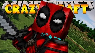 Minecraft Crazy Craft 3.0 : DEADPOOL HAS ARRIVED! #55