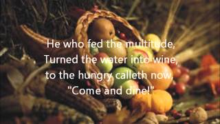Come and Dine (With Lyrics)