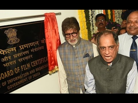 inaugurated the new Central Board of Film Certification (CBFC) office