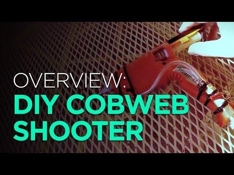OVERVIEW: DIY Halloween Cobweb Shooter - YouTube