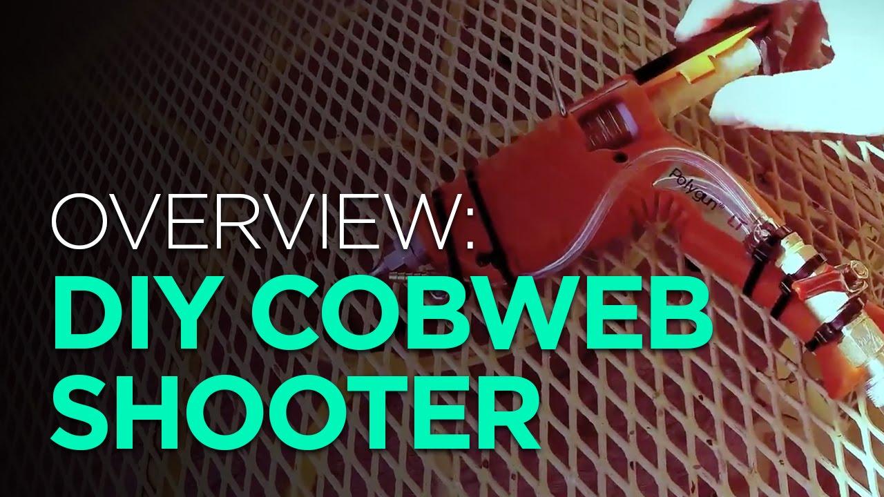 OVERVIEW: DIY Halloween Cobweb Shooter