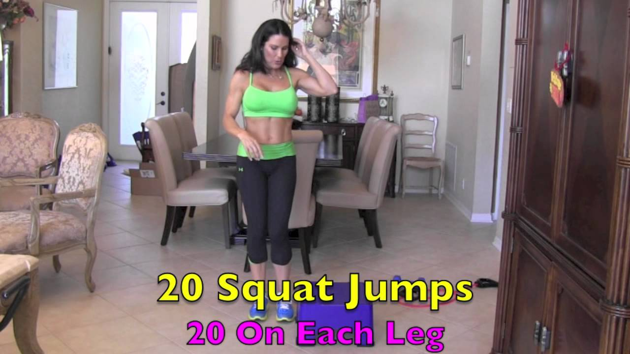 Lower Body Workout - Lean & Mean Thin Thighs Part 4 of 4