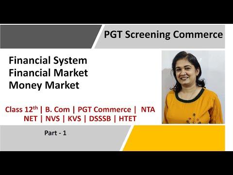 Financial System | Money Market