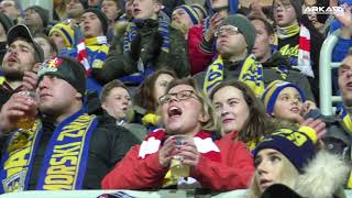 Arka - Górnik Zabrze 1-0 Kulisy meczu