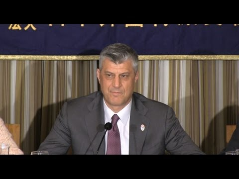 "Hashim Thaci: ""Fostering economic development, with Japan's help"""