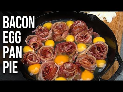 Bacon and Eggs Pan Pie