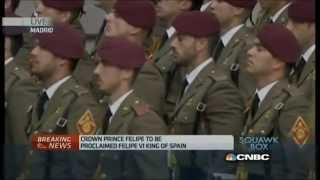 Felipe coronation  Turning point for Spain