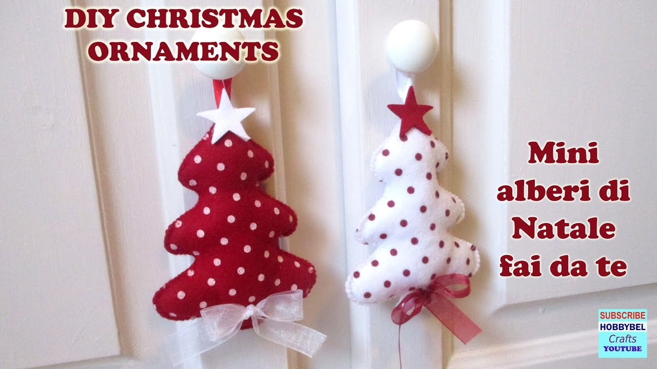 Tutorial christmas decorations alberi di natale for Alberi di natale obi