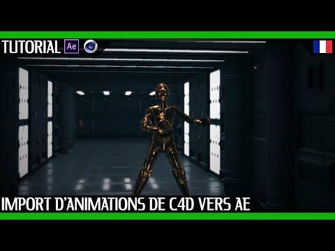 Formation Complète Cinema 4D & After Effects   Animation de personnage Star Wars de C4D à E3D