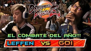 EL COMBATE DEL AÑO!! GO1 vs LEFFEN (CEO2018) Dragon Ball FighterZ