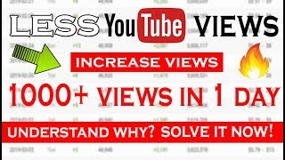How To Get 1000 views on a Video in a WEEK on YouTube | 100% Working Trick