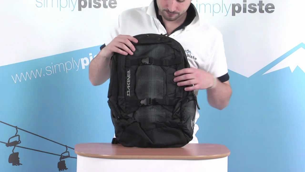 special for shoe choose original info for Dakine Mission Pack - Black and Hombre - www.simplypiste.com