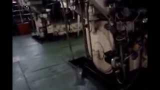 Cargo Ship Engine Room
