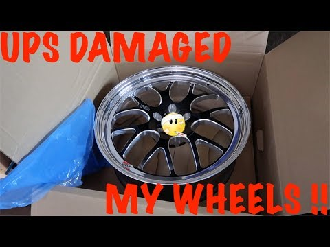 UPS Damaged My Weld S77 Wheels