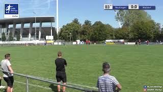 A-Junioren: 0:1 - Hassan Dybrill - FC Astoria Walldorf U19