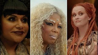 Exclusive Interview with Oprah, Reese, and Mindy from A Wrinkle in Time