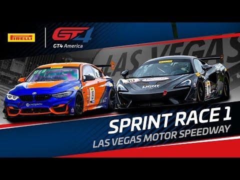 RACE 1 - LAS VEGAS MOTOR SPEEDWAY - Pirelli GT4 America - Sprint 2019