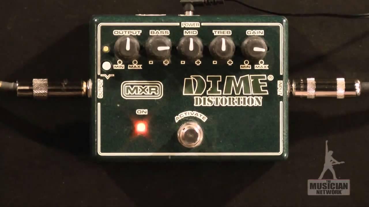 GEAR UP: MXR DD-11 DIME DISTORTION - DIMEBAG DARRELL SIGNATURE PEDAL