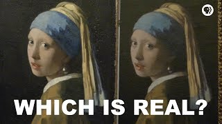 Which is the Real Girl with a Pearl Earring?