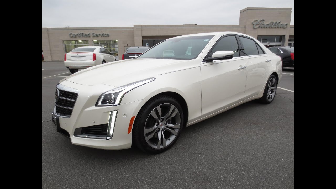 Attractive 2014 Cadillac CTS V Sport Start Up, Test Drive, Exhaust, And In Depth  Review   YouTube